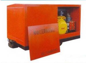 煤矿井下移动式瓦斯抽放泵站