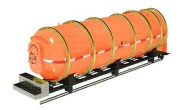 KJYF系列矿井可移动圆形防透水救生舱