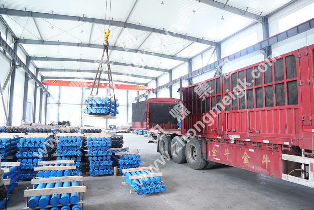 中煤集团一批矿用单体液压支柱发往甘肃和山西