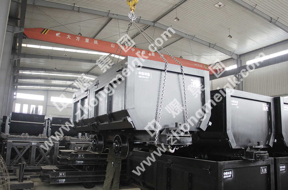 中煤集团一批矿车、U型钢支架分别发往山西和河北