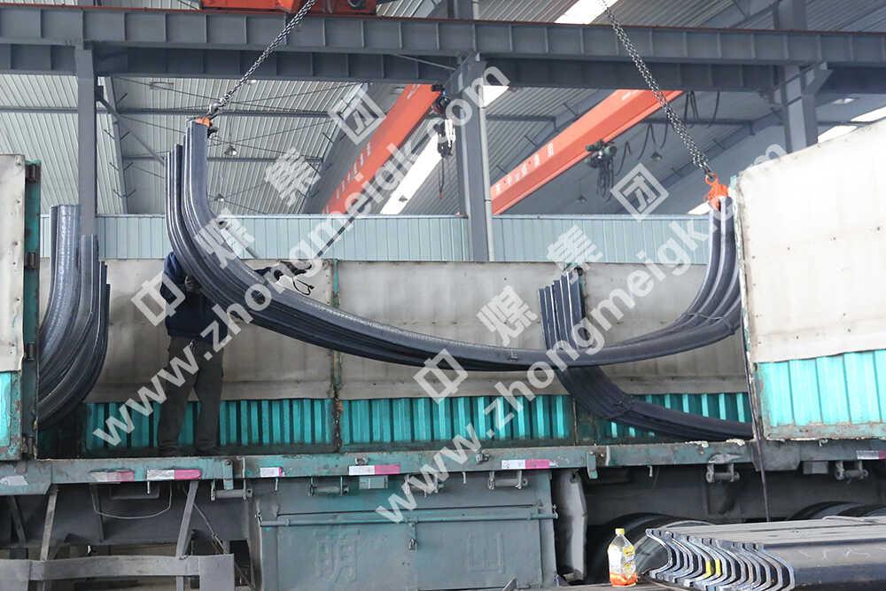 中煤集团一批U型钢支架发往广西大新县