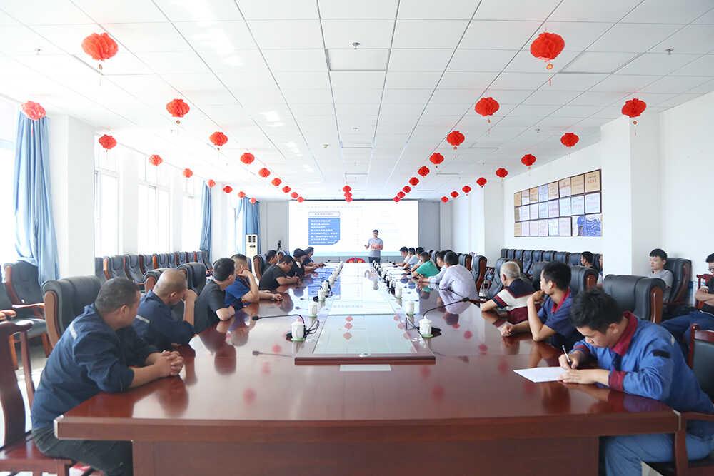 热烈欢迎济宁高新区应急管理局专家莅临中煤集团开展安全生产培训